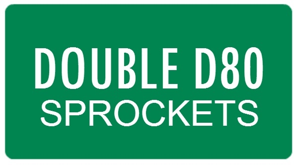 Double D80 Sprockets